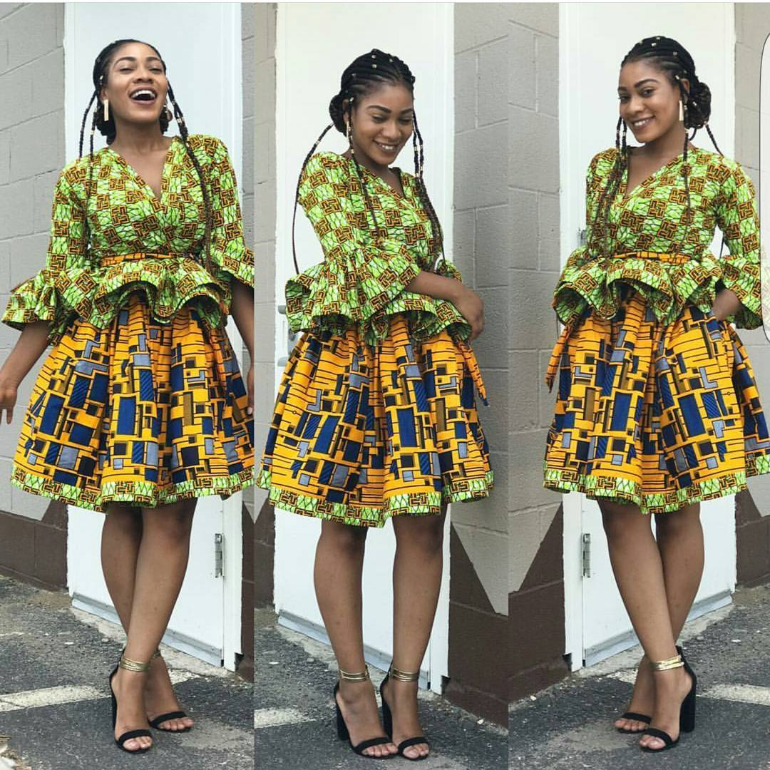 Stand Out In These Unique Ankara Styles