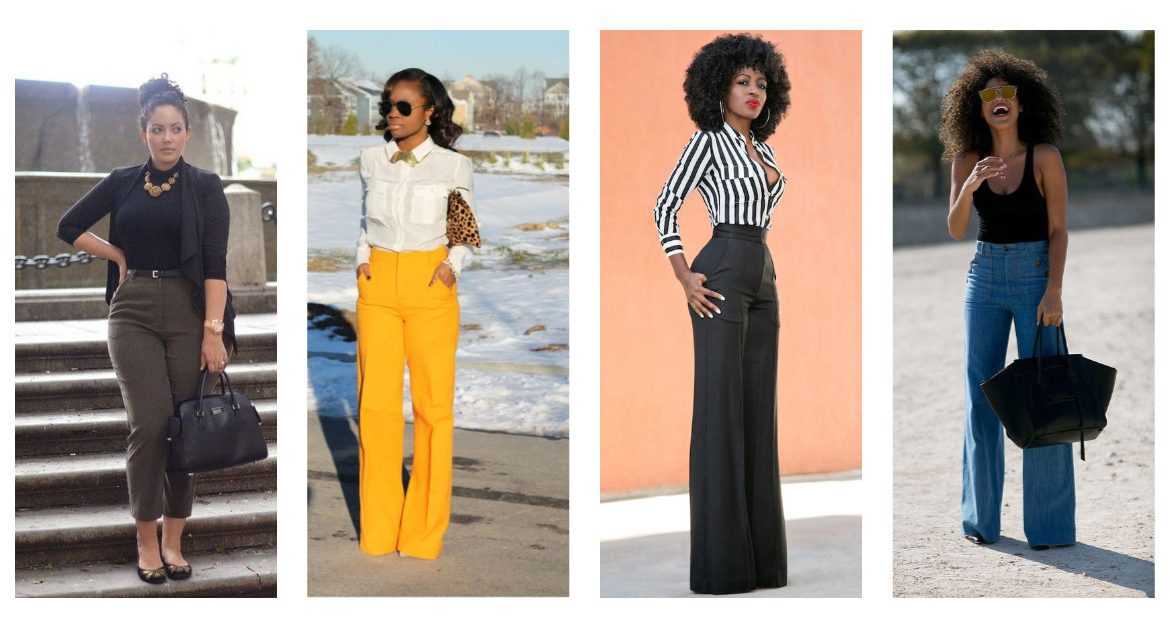 ways to style high waist trousers-amillionstyles