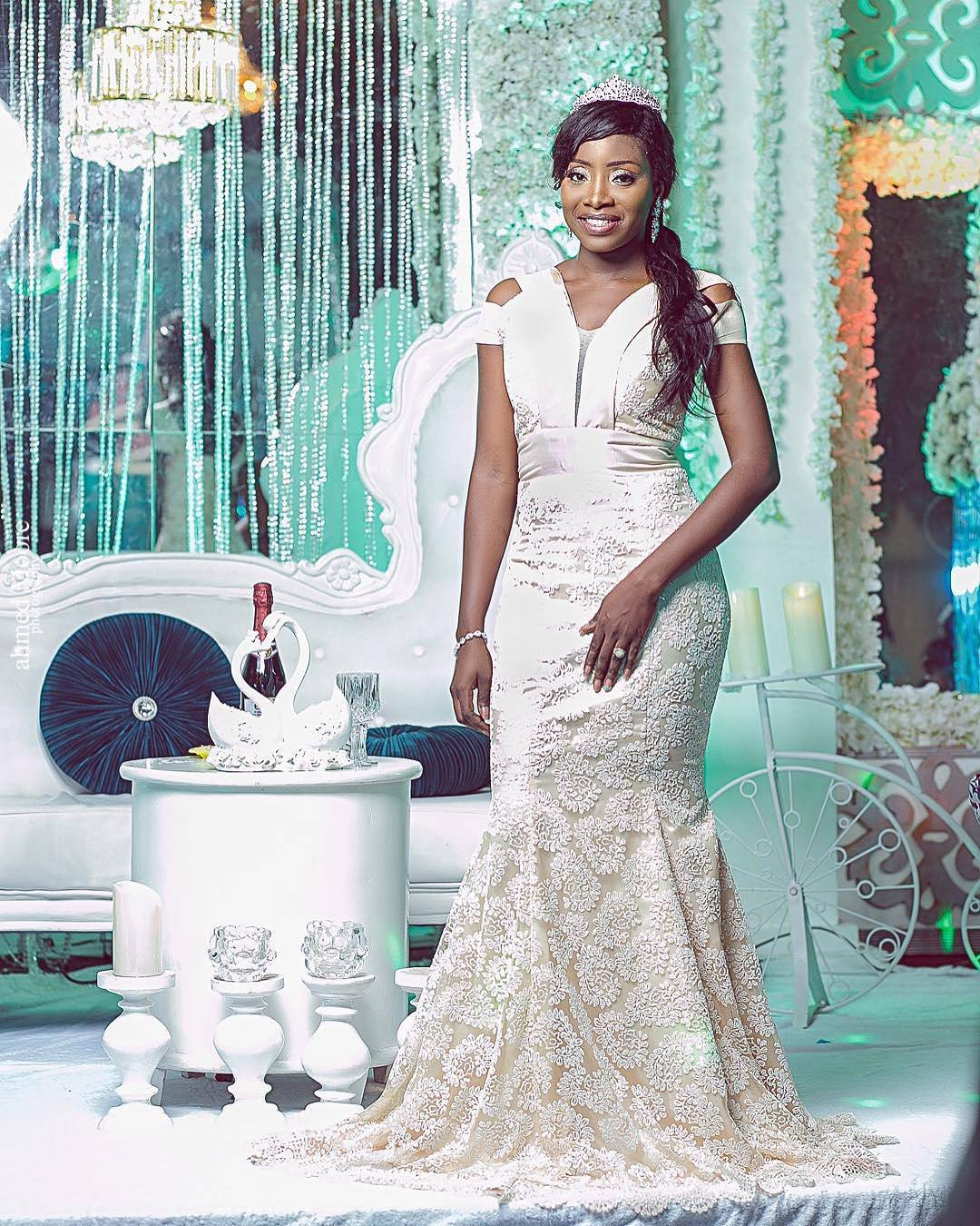 Serving Brides Some Wedding Reception Outfits | A Million Styles Africa