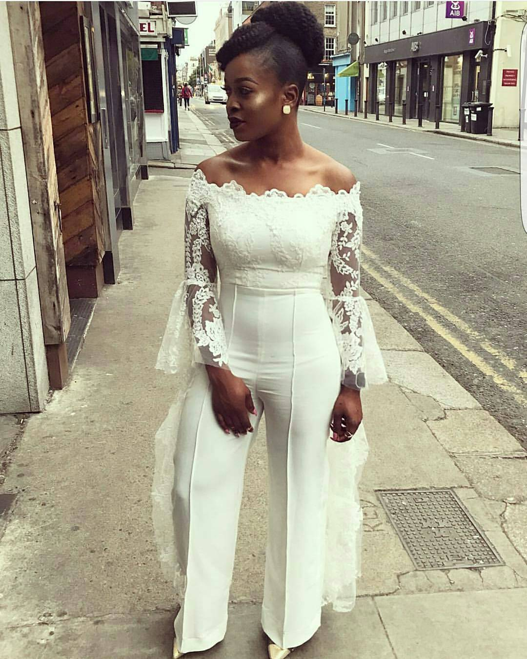 Serving brides some wedding reception outfits a million for Brides dress for wedding reception