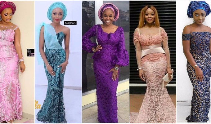 The Fabulous Aso Ebi Styles Perfect For Your Weekend Owambe Parties .