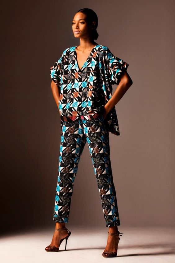 1000 Images About African Print 2 Piece Outfit On: The Ankara Two-Piece Styles