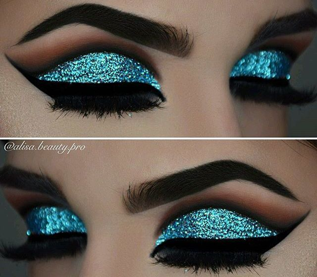 Makeup Tutorial: Slay The Glitter Eye Look