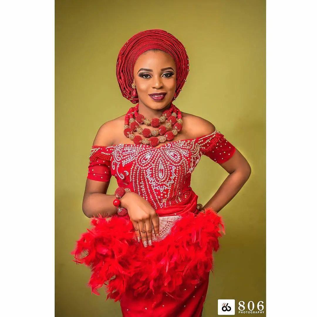 Wedding Hairstyles In Nigeria: All Shades Of Beautiful Nigerian Brides Traditional