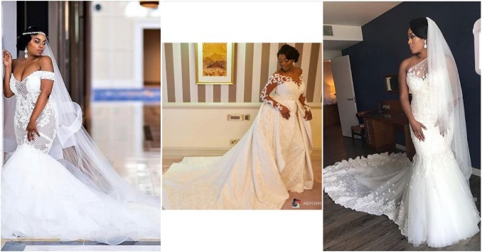 These Brides Slayed Their Nigerian Wedding Gowns