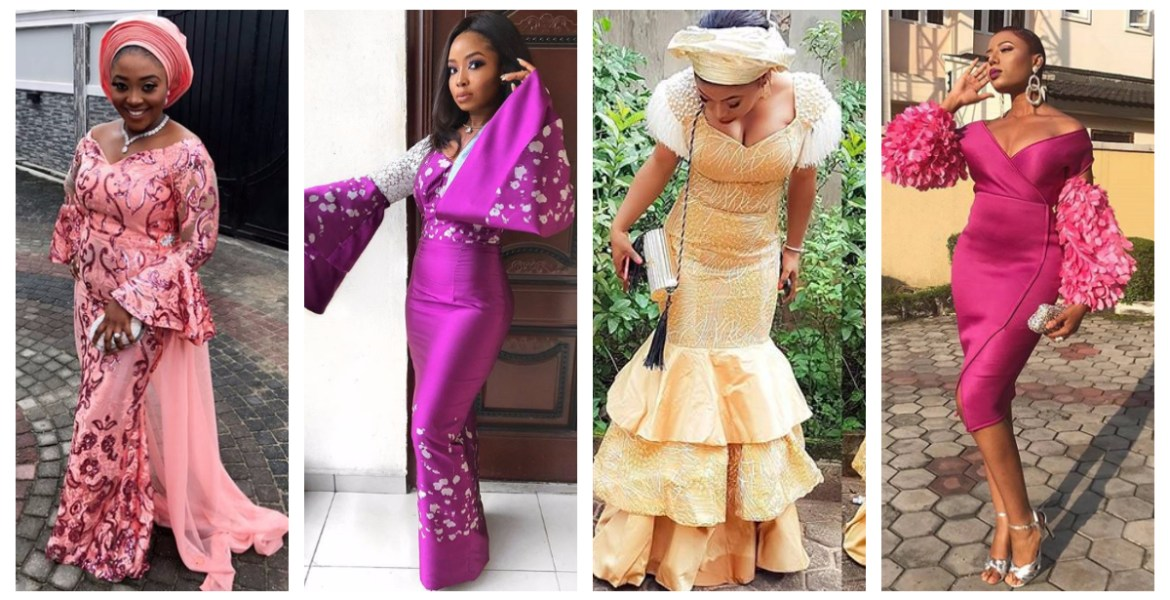 4c36d0533b7 Check out these Beautiful And Sexy Aso Ebi Styles We saw Over the Weekend.