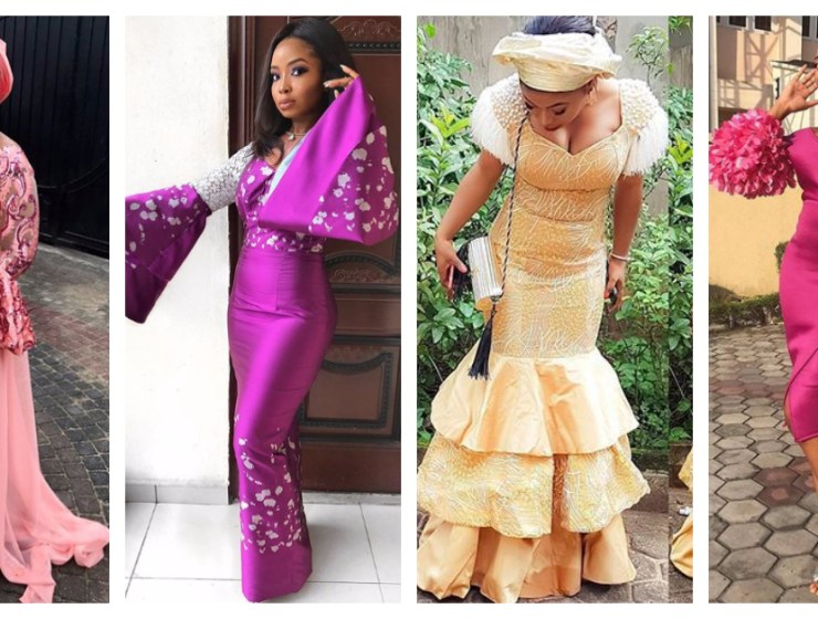Check out these Beautiful And Sexy Aso Ebi Styles We saw Over the Weekend.