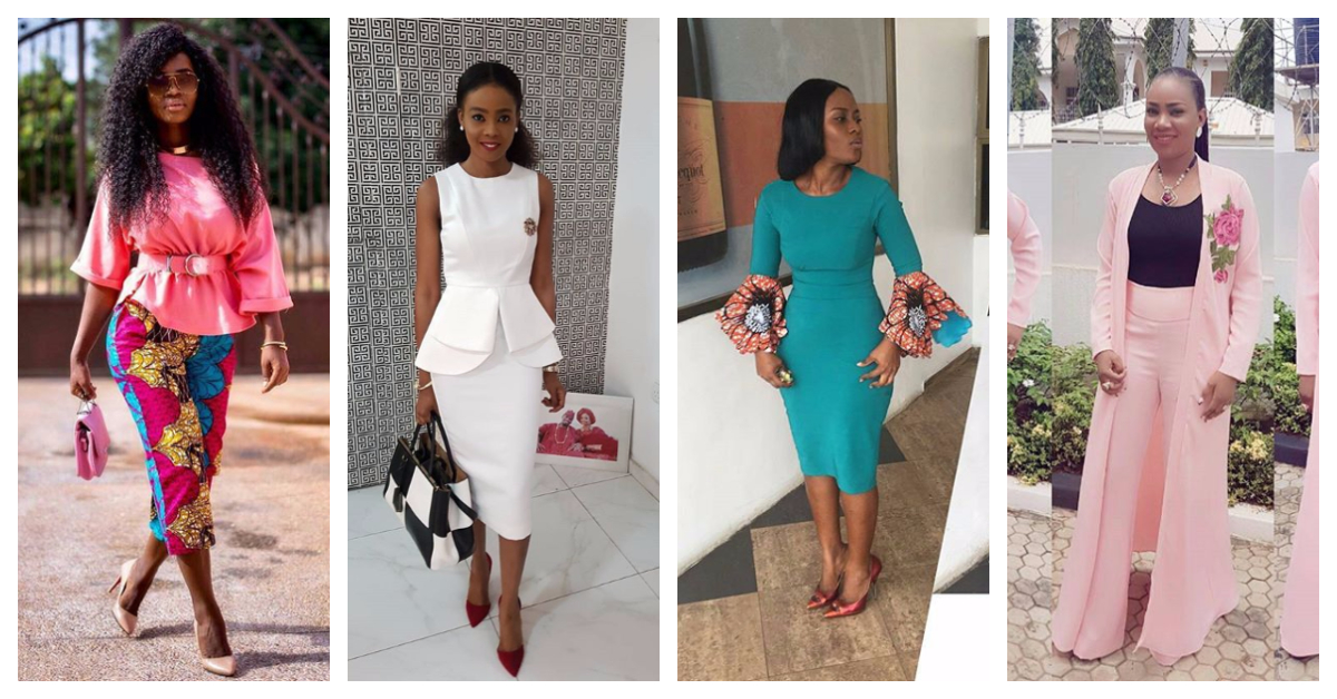 theseStylish Business Casual Attire Fashion Divas Are Slaying To Work.
