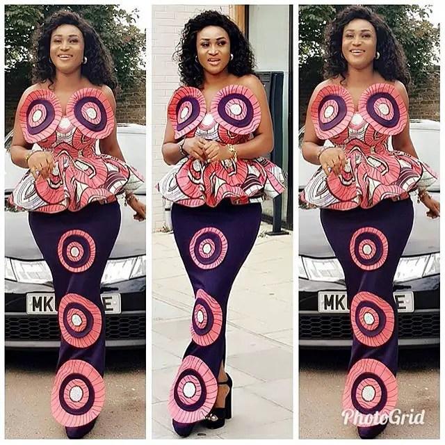 Sepesepe Figure 8 Ladies in Enchanting Latest Ankara Styles