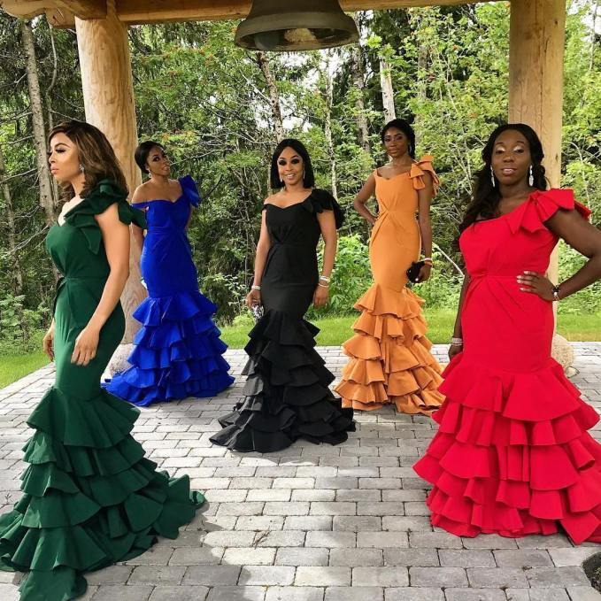 Kudos To These Lovely Nigerian Made Outfits