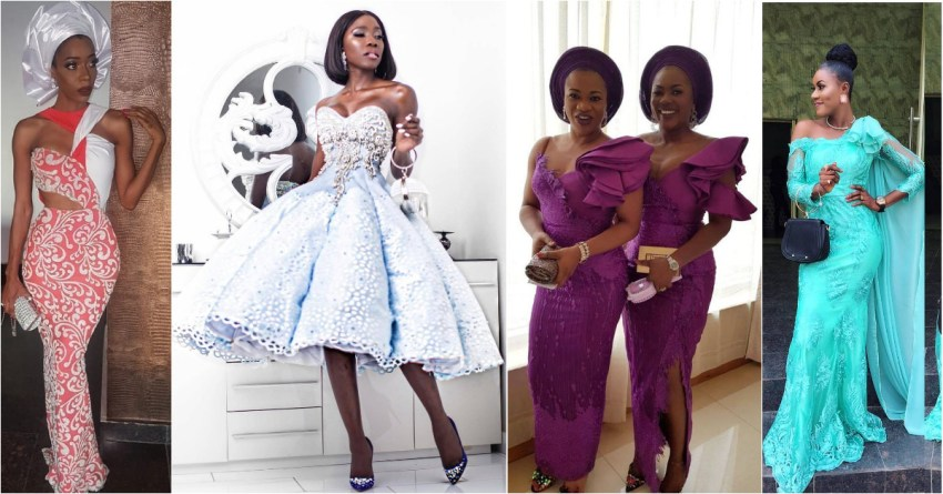 Getting Ya Freak On In These Sassy Latest Asoebi Styles