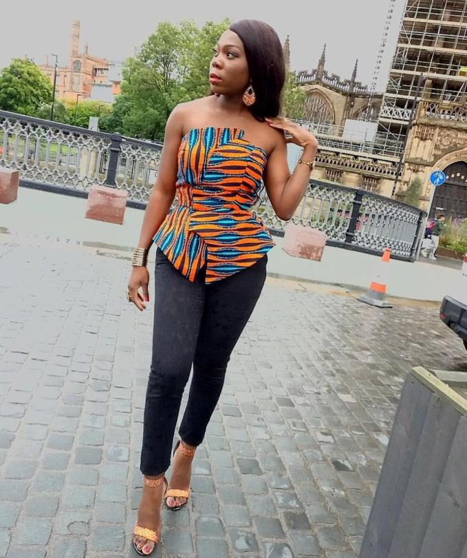 Glide Into The Weekend In Chic Ankara Top Styles