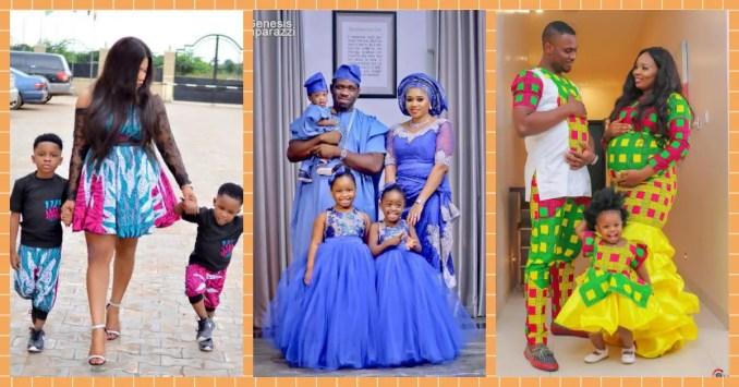 Cute Kids-Parents Fashion Twinning Styles
