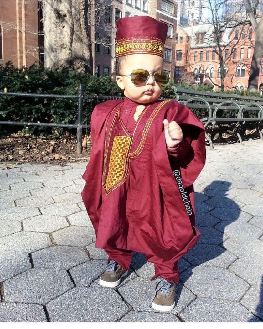Cool Kids Fashion In Traditional Attires