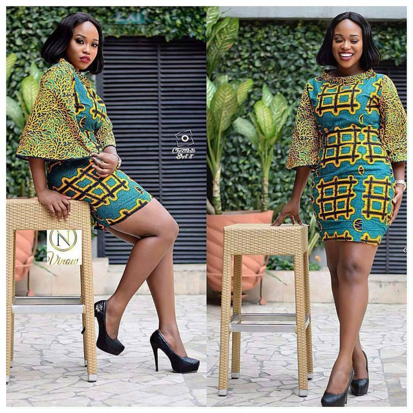 Revamp Your Wardrobe In This Enchanting Ankara styles