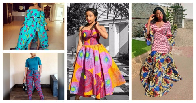 Latest and Unique Ankara Styles We Saw From The Weekend