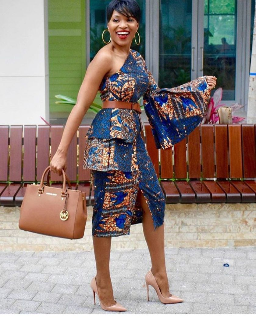 Chill Out In These Simple But Tasty Ankara Styles