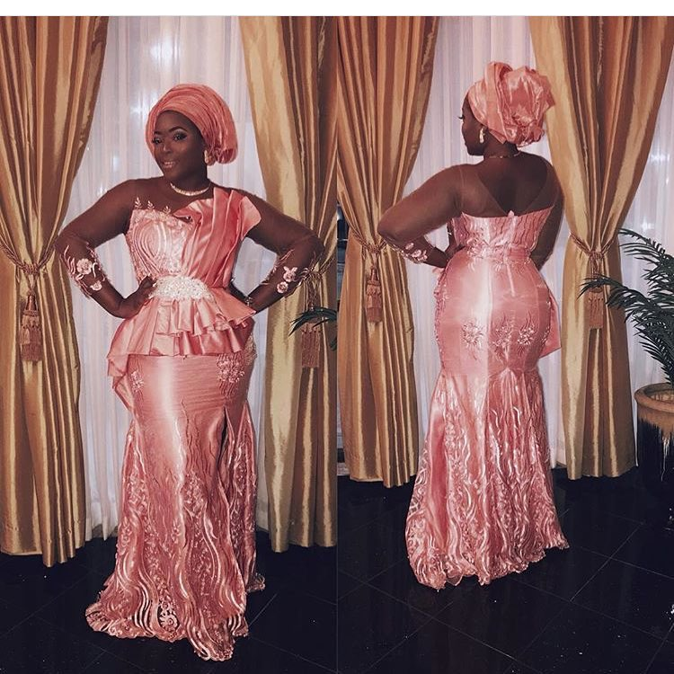 Get The Party Started In Blazing Hot Asoebi Styles