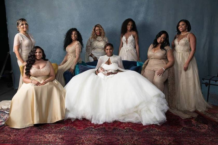 Here Comes The Beautiful Bride And Her Gorgeous Team Of Bridesmaids!