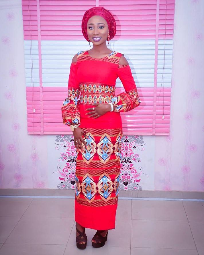 Look On Fleek In These Simple Ankara Styles