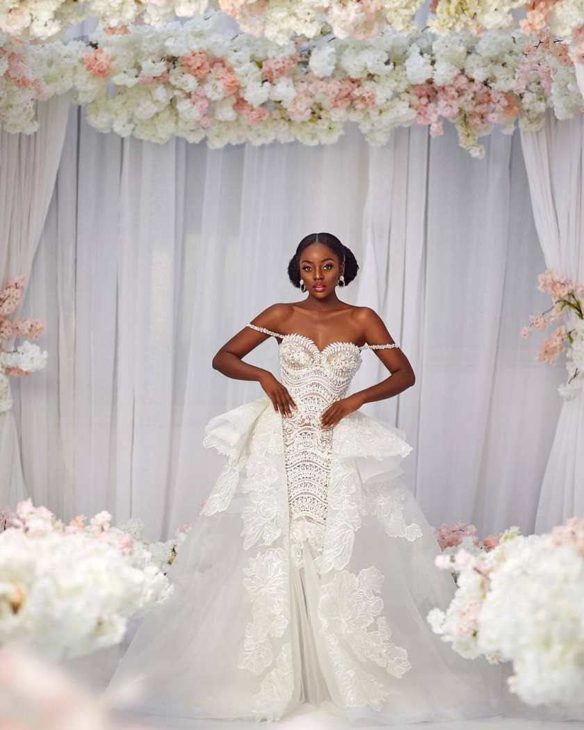 These Bomb Wedding Gowns Will Make You Want To Walk Down The Aisle!