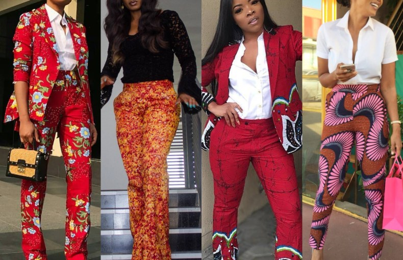 We bring to you Fresh And Trending! Ankara Pants For The Slay Queens