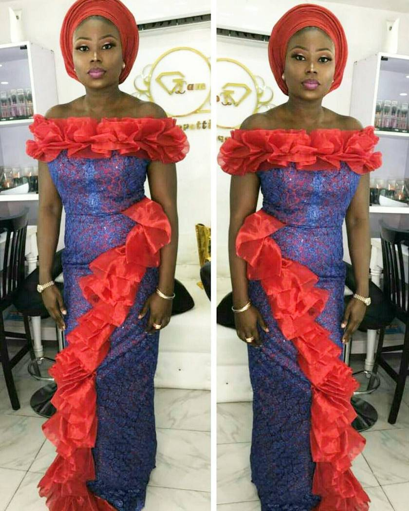 These Sexy Lace Asoebi Styles Are Sugar And Spice, Everything Nice! wow! check out these aso ebi styles that would make you slay WOW! CHECK OUT THESE ASO EBI STYLES THAT WOULD MAKE YOU SLAY asoebi  tuminicious in  lizzybee24clotheir amillionstyles