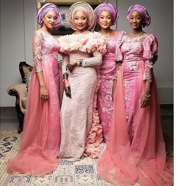 Trending Lace Asoebi Styles Of 2018
