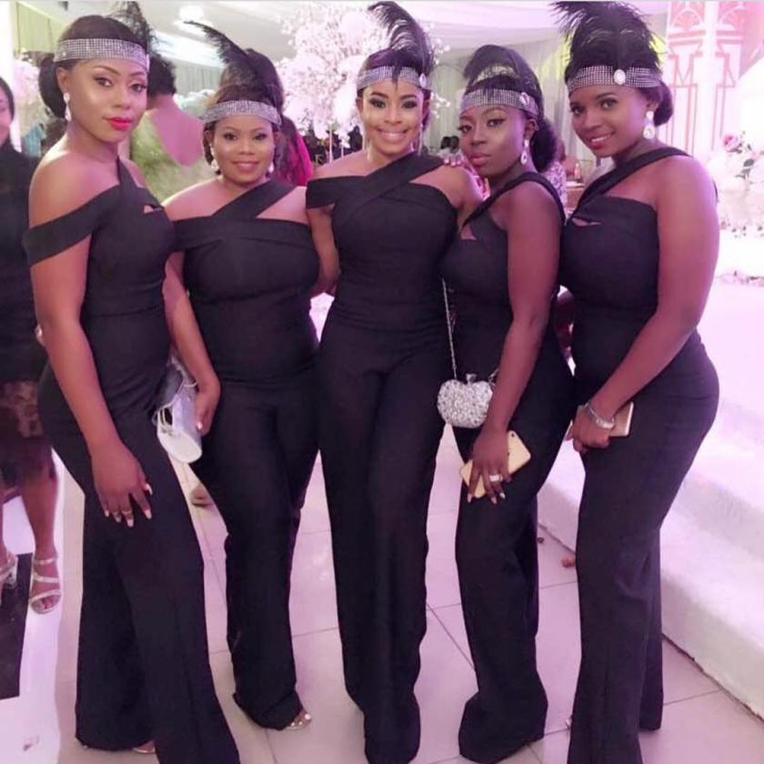 Sexy Bridesmaids Looking Their Best For Their Girl!