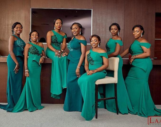 We Are Serving These Sexy Bridesmaids Styles Hot!