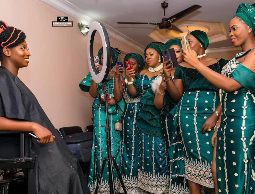 These Asoebi Ladies Slayed Hard For Their Friends
