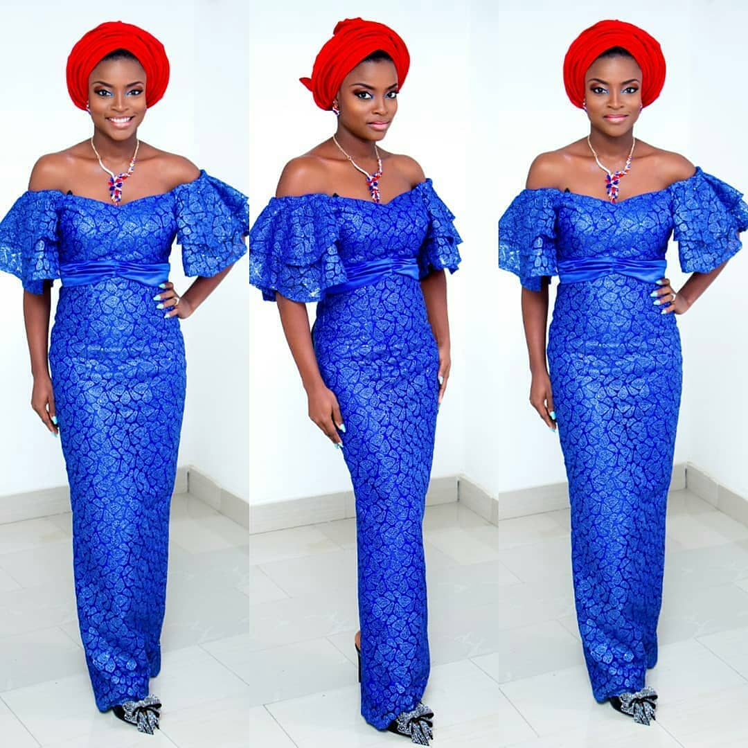 to your weekend owambe parties in fab Aso Ebi Styles.
