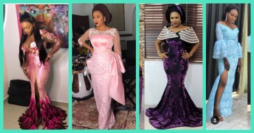 Stunt On Them In These Magnificent Lace Asoebi Styles!