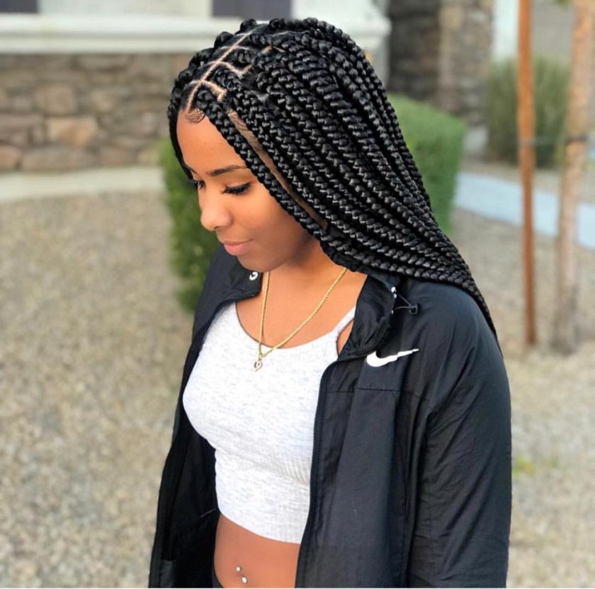 Switch Up Your Braid Style With These New Styles