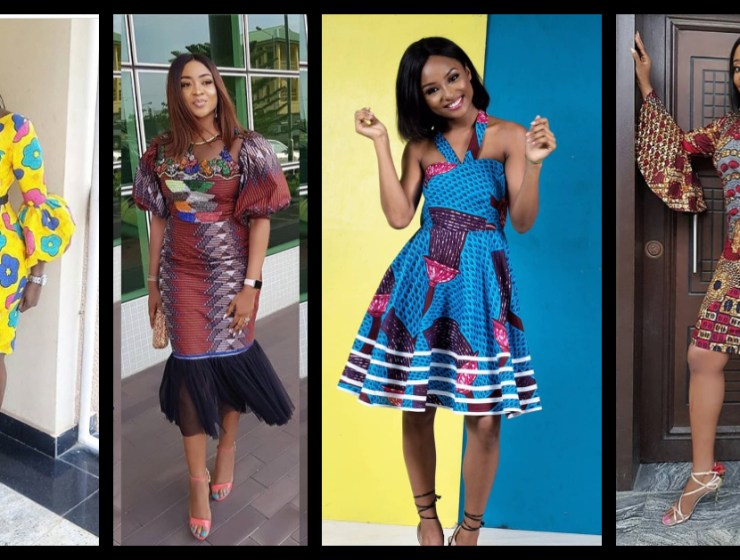 Nice Short Ankara Dresses Perfect For The Season!