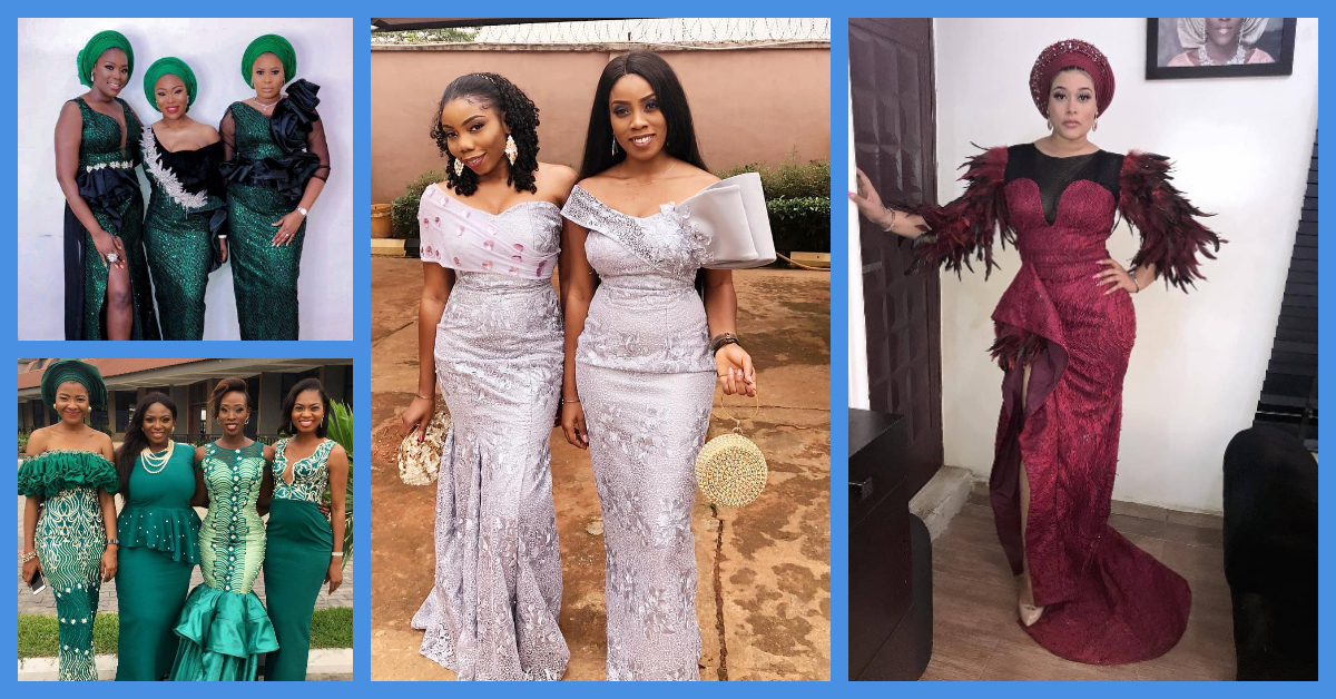 Super Classy Asoebi Lace Styles From The Gram