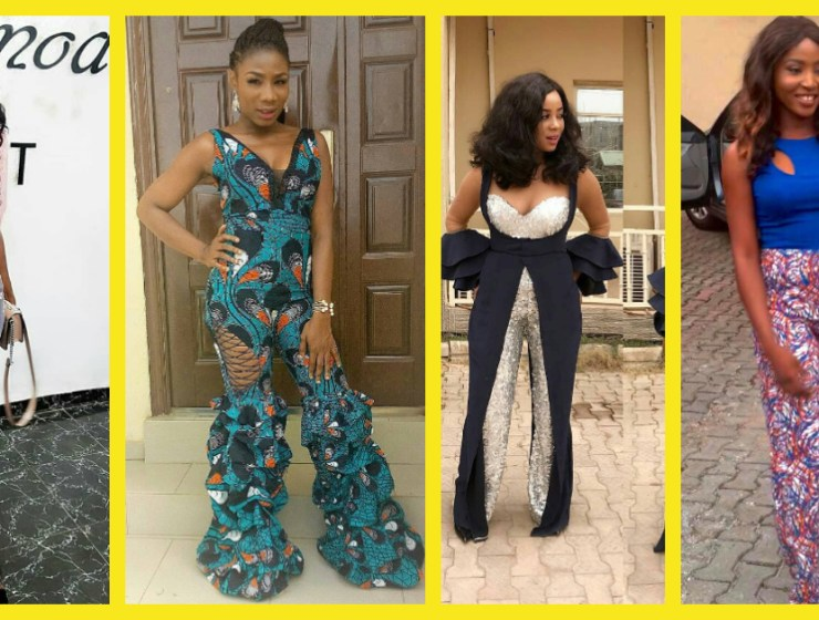 Get On These Ankara Jumpsuit Train!