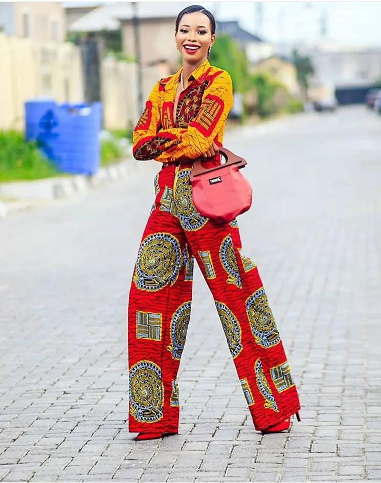 10 Times Angel Obasi Rocked The Ankara Effortlessly