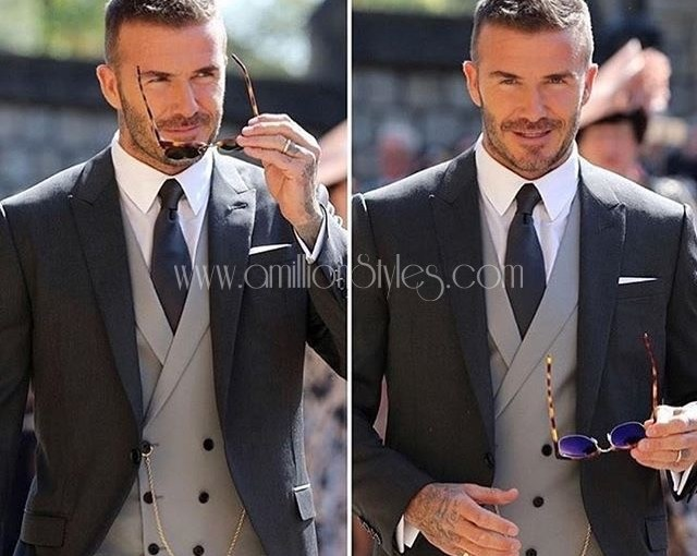 MCM: Be A Stylish Man Like David Beckham