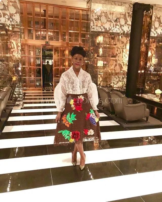 Ten Times Chimamanda Looked Stunning In Nigerian Designs