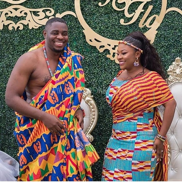 Beautiful Kente Styles For Ghanaian Marriage Ceremony