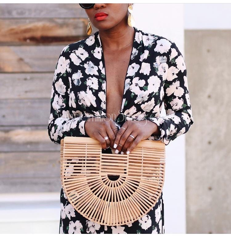 Straw Bags Are Making Waves At The Moment!