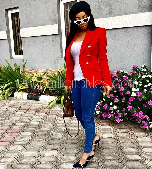 WCW: Celebrating Toke Makinwa's Casual Style