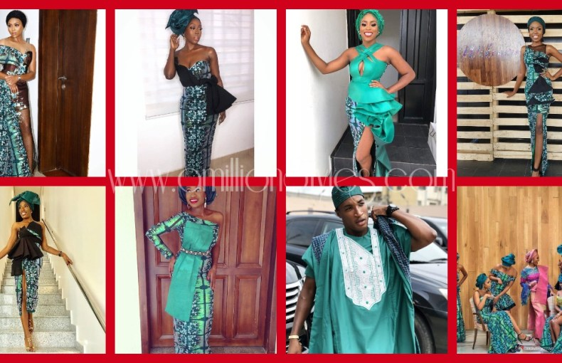 Absolutely Gorgeous Asoebi Outfits At Zainab Balogun's Traditional Wedding!