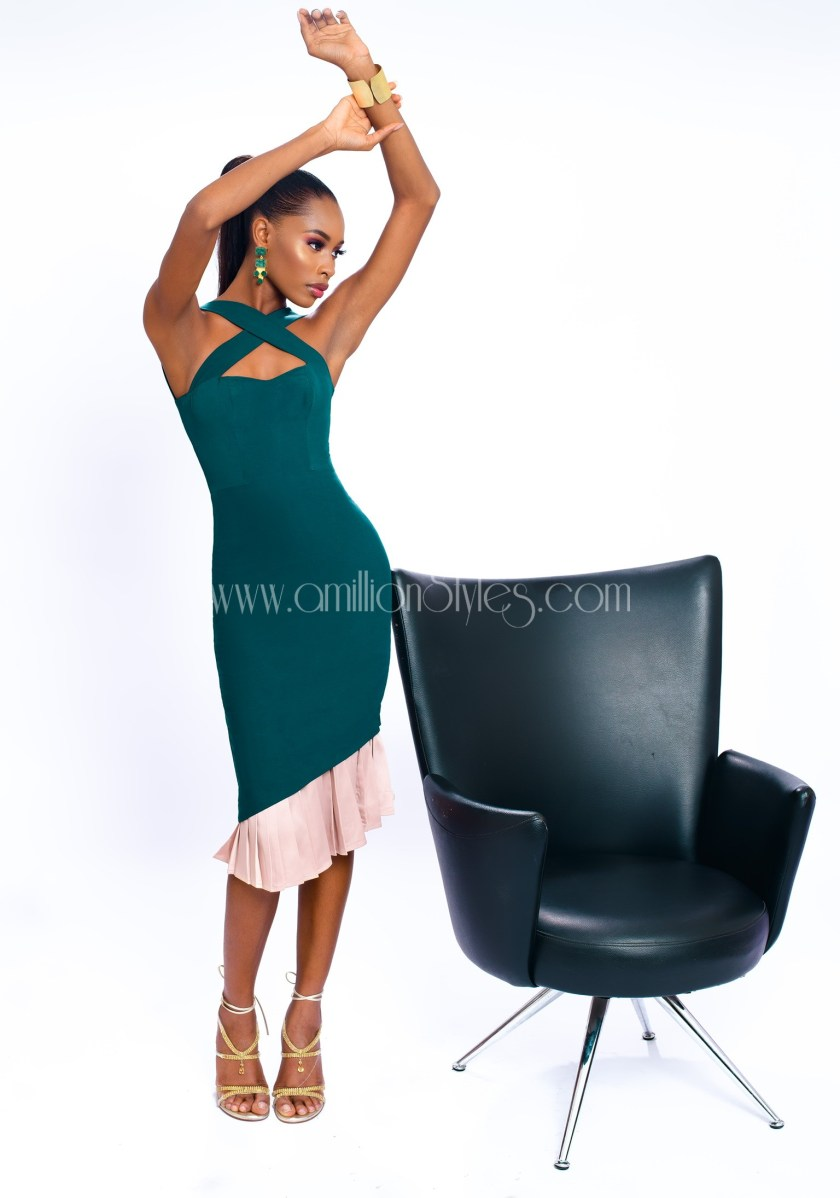 Stunning Model Aduke Is The Muse For Jewel Jemila Elegant-Serenity CollectionJewel jamila