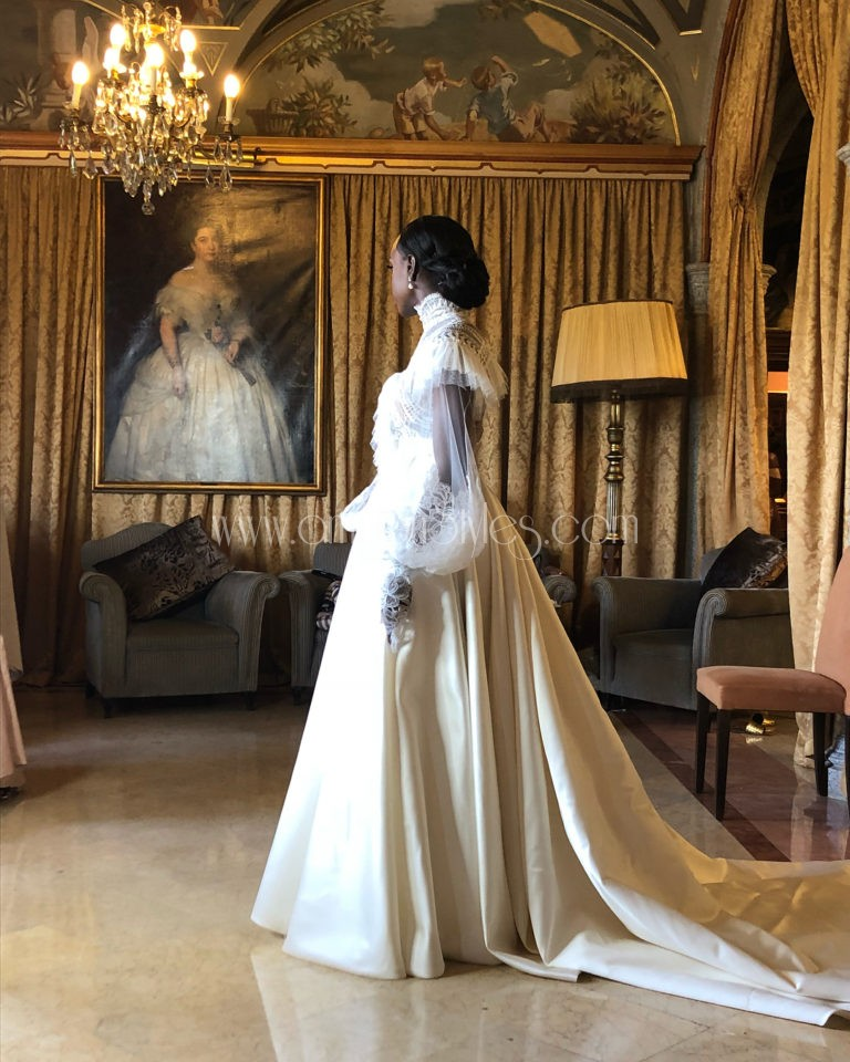 When Love Happens! All The Sweet Details Of Salewa Hassan-Odukale And Nonso's Grand Wedding In Spain.