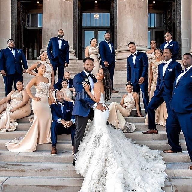 The Bride And Her Tribe: Beautiful Bridesmaid Dress Inspiration