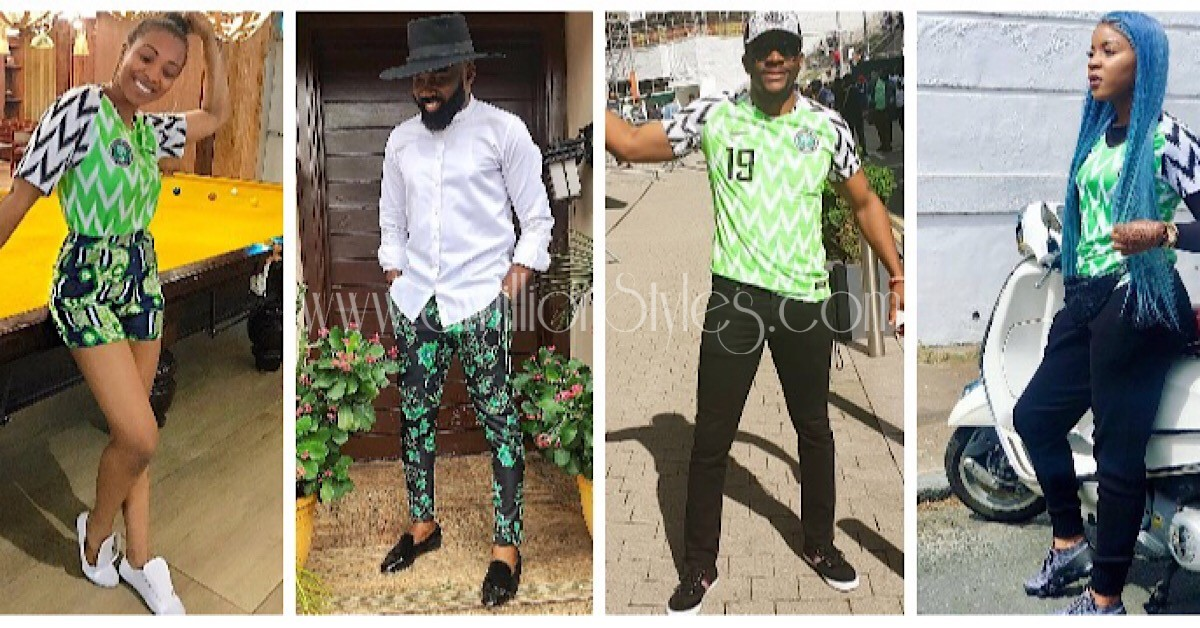See How Our Favorite Celebs Styled The Nigerian Jersey