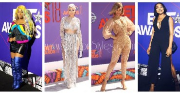 Style Highlights From The 2018 BET Awards Plush What Our Favorite Nigerian Celebs Wore