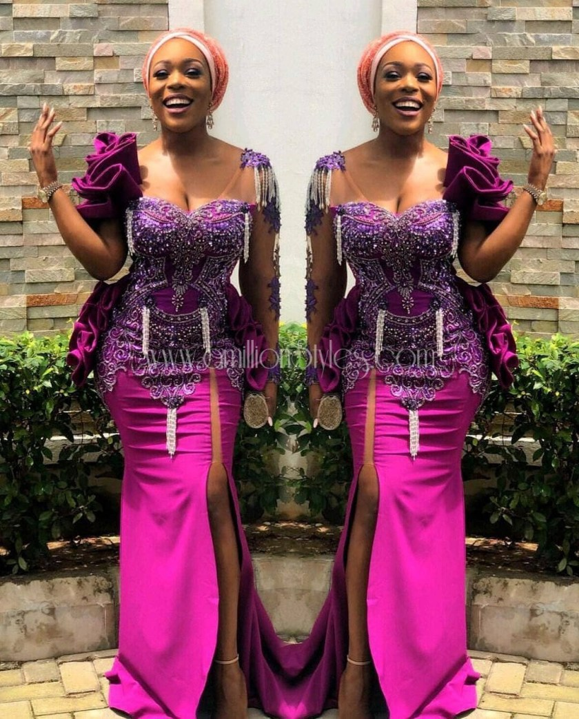Be A Hawt Asoebi Style Lady In These Fabulous Outfits